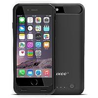iXCC 3100mah External Battery Backup Charging Case for Apple iPhone 6 (Black)