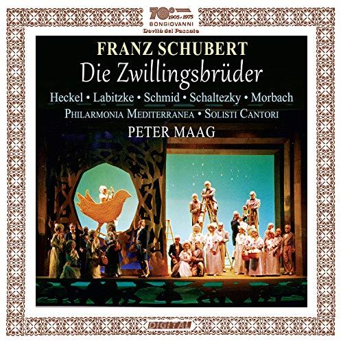 CD : SCHUBERT / HECKEL / MAAG - Die Zwillingsbruder