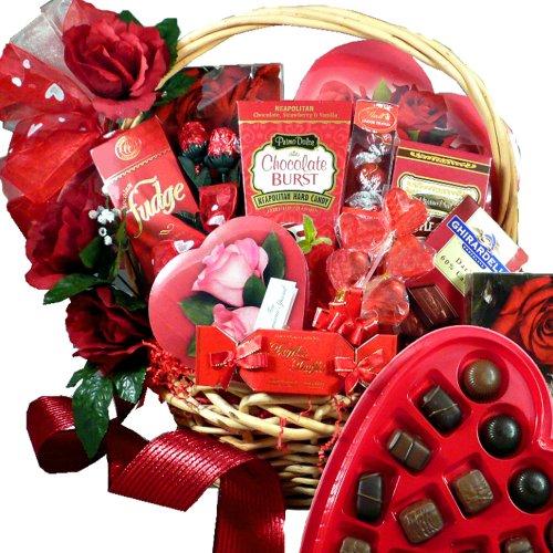 My Chocolate Valentine Premium Gourmet Food Gift Basket