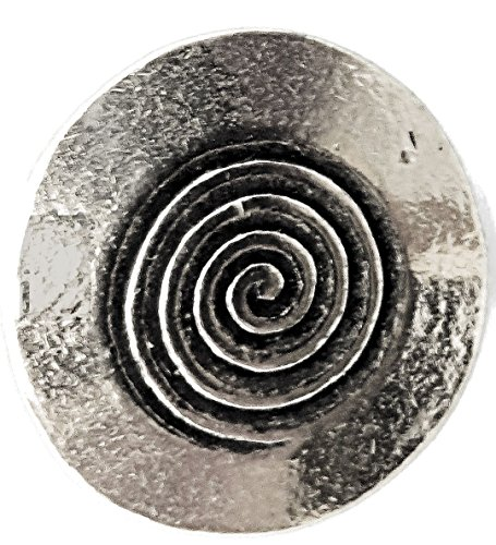 Ætt Knapper Pewter Button
