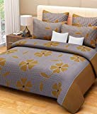 Shiv Fabs Floral Bedsheets with 2 Pillow Covers