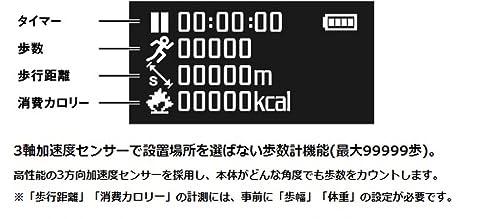 グリーンハウス 防水MP3プレーヤー KANA Sport (4GB) ホワイト GH-KANASPB4-WH