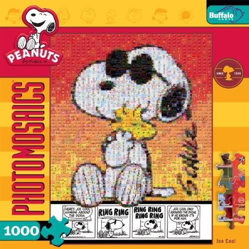 Peanuts Photomosaic Joe Cool 1000pc Jigsaw Puzzle