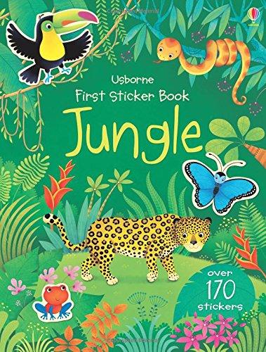First sticker book : Jungle (First Sticker Books)