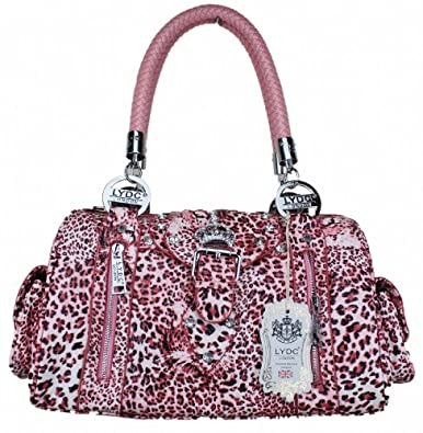 a6d16c61295f Exoticglitter LYDC Hand Shoulder Bag Croc leopard Animal print 3102 TG  Pink: edpolicy.stanford