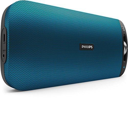 Philips-BT3600A00-Altavoz-porttil-con-Bluetooth-NFC-micrfono-multipair-batera-recargable-azul
