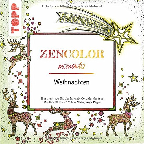 zencolor moments weihnachten ausmalen f r erwachsene. Black Bedroom Furniture Sets. Home Design Ideas