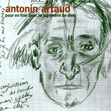 cover using one of Antonin Artaud drawings for a radio recording
