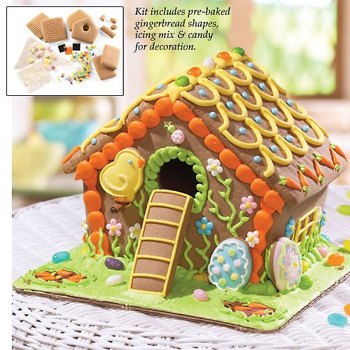 Amazon.com : Spring & Easter Gingerbread House Kit : Everything Else