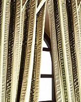 Puckered Stripes silk curtain