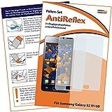 2x mumbi Displayschutzfolie Samsung Galaxy S II 2 i9100 Displayschutz AntiReflex antireflektierend