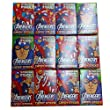 Marvel Heroes vs Villains Candy Sticks with Sticker x12 Packs