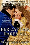 img - for Her Captain Dares All (Men of the Sea Book 3) book / textbook / text book