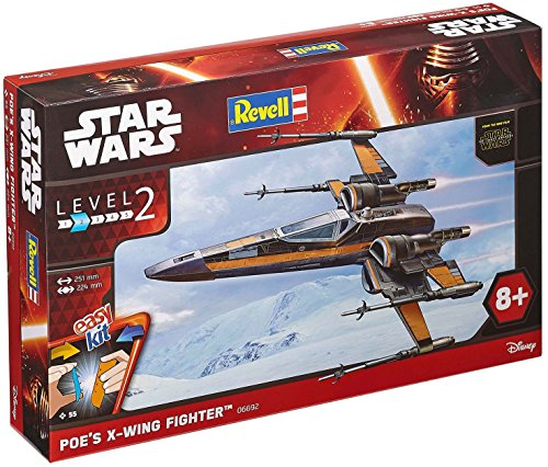 revell-06692-star-wars-easy-kit-poes-x-wing-fighter-55-pieces