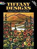 img - for Tiffany Designs Stained Glass Coloring Book (Dover Design Stained Glass Coloring Book) book / textbook / text book