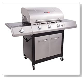 Char-Broil 3-Burner Gas Grill with Side Burner