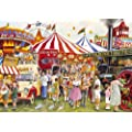 Gibson's Candyfloss & Carousels Jigsaw Puzzle (500 pieces)