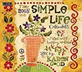 Lang January to December, 13.375 x 24 Inches, Perfect Timing Simple Life 2015 Wall Calendar by Karen H Good (1001766)
