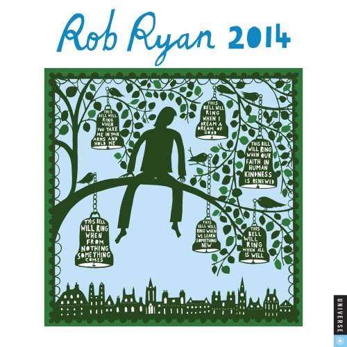 Rob Ryan 2014 Wall Calendar: A Calendar of Fantastical Papercuts