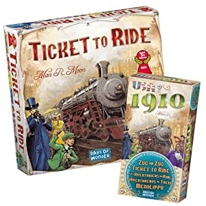 Ticket To Ride With Ticket To Ride: 1910 Expansion