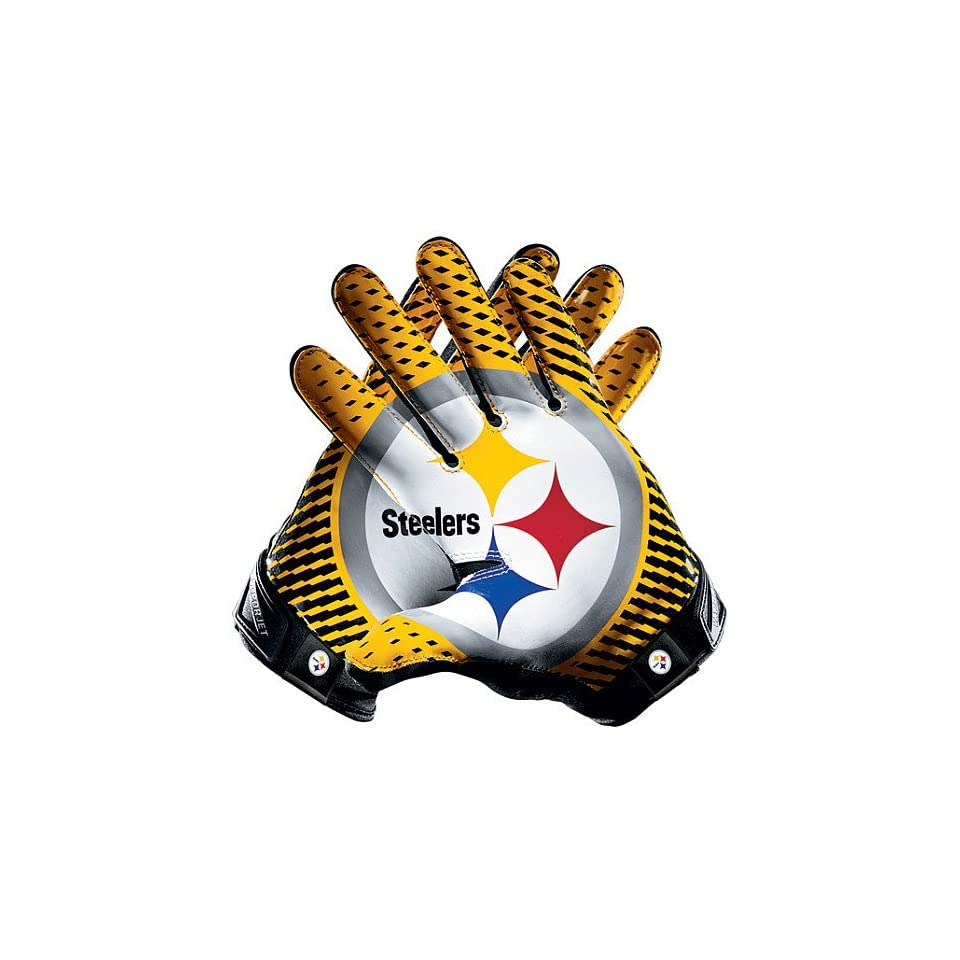 8b361dcb8bc Nike Pittsburgh Steelers Vapor Jet 2.0 Team Authentic Series Gloves  Misc.