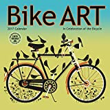 img - for Bike Art 2017 Mini Wall Calendar: In Celebration of the Bicycle book / textbook / text book