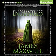 Enchantress: Evermen Saga, Book 1 Audiobook by James Maxwell Narrated by Simon Vance