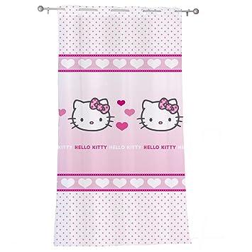 Cti 041415 voilage hello kitty mimi love 140 x 240 cm o deals xcvbnbfgh - Hello kitty et mimi ...