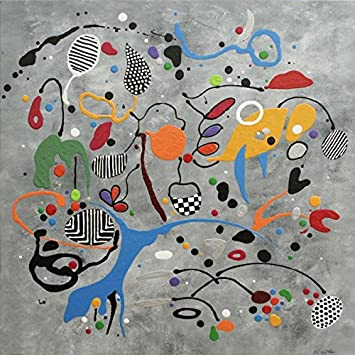 Martine Diotalevi – Martine Diotalevi: Life Table 90 x 90 cm