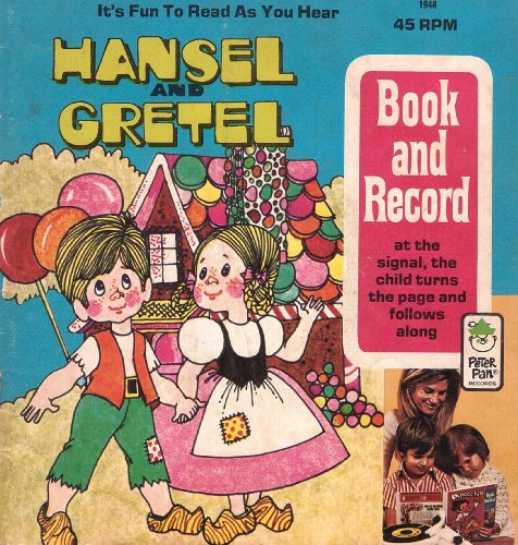 hansel-and-gretel-illustrated-peter-pan-book-and-recording-1948-english-edition
