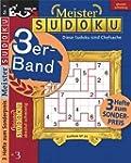 Meister-Sudoku 3er-Band Nr. 3