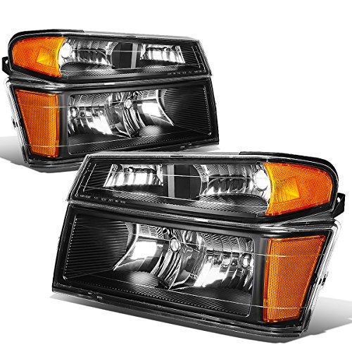 colorado-canyon-pair-of-headlight-bumper-light-black-housing-amber-reflector