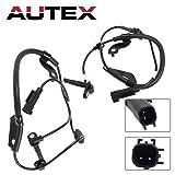 AUTEX 2PCS ABS Wheel Speed Sensor Front Left & Right ALS1784 ALS1785 compatible with Mitsubishi Lancer 2008-2010 2.0L 2.4L/Mitsubishi Outlander 2007-2011 2.4L 3.0L