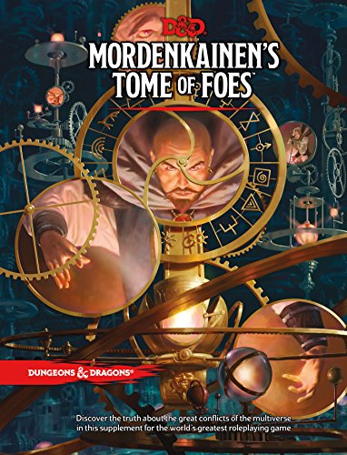 D&D MORDENKAINEN'S TOME OF FOES (D&D Accessory) [Wizards RPG Team] (Tapa Dura)