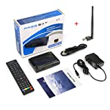 Original Free Sat FTA 1080P Digital V7 HD Satellite Receiver DVB-S2 Satellite Decoder Support PowerVu,DRE & Biss key USB Wifi to Network Sharing( an USB Wifi Dongle for Gift)