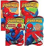 Spiderman Shaped Board Books (Set of 4)