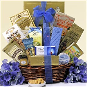 Best Wishes: Sweet & Salty Gourmet Gift Basket by GreatArrivals Gift Baskets