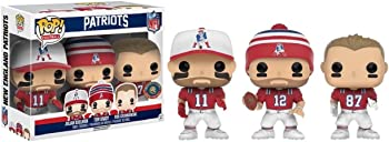 3-Pack Pop NFL: New England Patriots