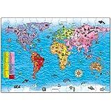 Orchard Toys Puzzle et Poster - Thème Carte du Monde