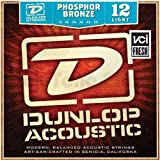 Dunlop DAP1254-3 Acoustic Phosphor Bronze, light 3-Pack