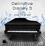 Definitive Disney 3 - Live Performance Model LX Compatible Player Piano CD