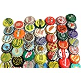 100 Vintage Random Bottle Caps Collectible Craft Jewelry Coke Soda Bottlecaps