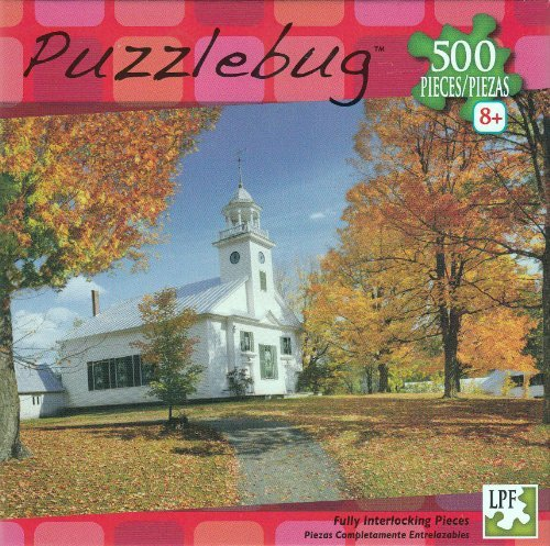 Puzzlebug 500 Pieces Autumn in Vermont - 1