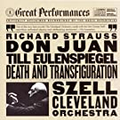 Strauss: Til Eulenspiegel's Merry Pranks, Op. 28, Don Juan, Op. 20, and Death and Transfiguration, Op. 24
