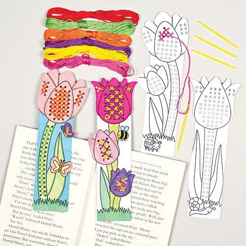 kits-de-marque-pages-tulipes-a-coudre-au-point-de-croix-que-les-enfants-pourront-confectionner-et-de