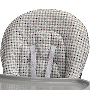 graco simpleswitch highchair replacement seat pad cover