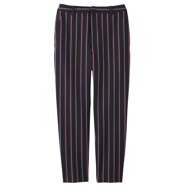 Amazon.co.jp: (インディヴィ)INDIVI [S]レジメンタルストライプ2WAYパンツ: 服&ファッション小物通販