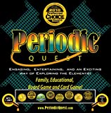 Periodic Quest: Winner of 8 Popular Children's Product Awards Including Dr. Toy Award and Mom's Choice Award. Best Holiday Gift For Middle- High School Students. It Is a Family, Educational Card and Board Game Set with More Than 6 Card Games and Board Games Based on the Periodic Table of Elements. Currently on Holiday Season Sale!