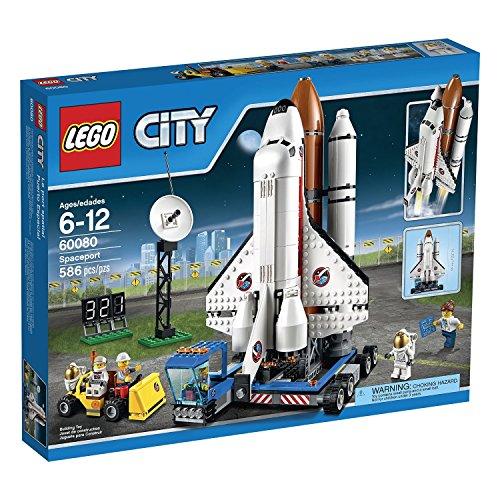 LEGO-City-Space-Port-60080-Spaceport-Building-Kit