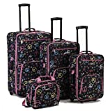 4 Pc Rockland Peace Luggage Set By Fox Luggage